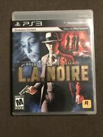 L.A. Noire (Sony Playstation 3) ✅CIB/Complete ✅Tested