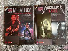 Metallica Legendary Licks - Guitar Method Books and Cds: 1983-1988 & 1988-1996