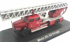 Firefighters Truck Metz DLK 30 Mercedes Benz L1519 1:72 Diecast Ixo Atlas