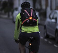Oxford Commuter X4 Fibra Luce Posteriore Pro Zaino si illumina Optic a 70 LUMEN!