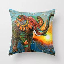 Niedlich Sanft Velvet  Elephant Kissenbezug Kissenhülle Dekokissen Dekoration