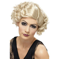 BLONDE 20s Charleston Flirty Flapper Hollywood WIG Fancy Dress Accessories 42003
