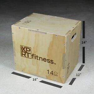 XPRT Fitness Plyo Jump box Exercise Training Box CrossFit HIIT