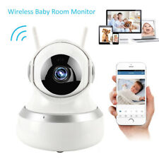 Digital Wireless Wifi Baby Room Audio Video Monitor Camera Security HD Vision