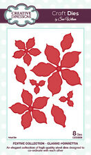 Creative Expressions Sue Wilson Festive Collection CLASSIC POINSETTIA  CED3008
