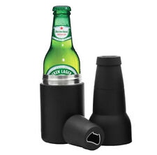 Vacuum Insulated Stainless Steel Bottle Cooler with Bottle Opener - SET OF 20