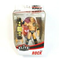Mattel WWE Elite Collection Royal Rumble The Rock Figure New Exclusive Target