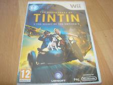 THE ADVENTURES OF TINTIN SECRET OF THE UNICORN ** NEW & SEALED ** Nintendo Wii