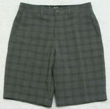 """New Goodfellow Dress Shorts Gray 30"""" X 10.5"""" Flat Front Polyester Rayon Spandex"""