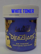 La Riche Directions Hair Colour Dye White Toner 88ml
