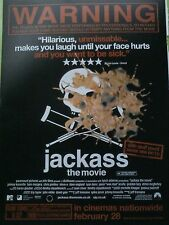 Jackass The Movie Film Steve O A4 Single Page from British Magazine