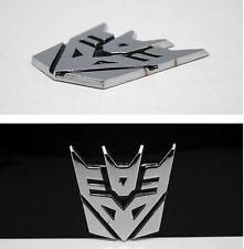 3D Alloy Black Transformer DECEPTICONS Car Stickes Trunk Emblem Badge Logo New