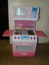 RARE KIDS CHILDREN BARBIE BE SMART TALKING KITCHEN