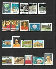 Sri Lanka - 1989-1991 - 48 stamps -  unmounted mint