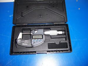 "11931 Mitutoyo IP65 293-330 coolant proof 0-1"" .00005 micrometer / caliper"