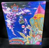 "Roanoke Virginia Star City Pop Art Wrapped Canvas Print 20"" x 16"" H&C Dr. Pepper"