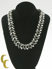 "Giles & Brother 30"" Long Crystal Encrusted Necklace MSRP"