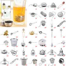 Metal Tea Infuser Stainless Steel Loose Leaf Strainer Filter Herbal Spice UK
