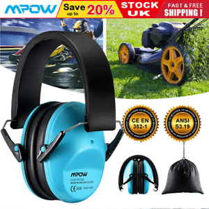 Mpow Kids Ear Defenders Earmuff Noise Reduction Protectors Muff Children Baby