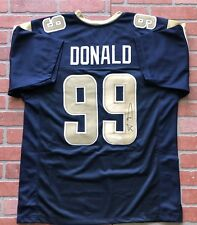Aaron Donald autographed signed jersey NFL Los Angeles Rams JSA w/ COA Pro Bowl