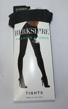 Berkshire Tights Heather Gray Printed Stockings Size 3-4 (Medium Large) New NWT