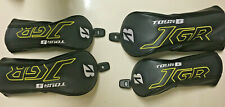 Bridgestone Golf JGR Fairway Woods (2) And Hybrid (2) Headcover Set - VGC