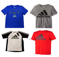 NEW Adidas Youth Big Boys Logo Shirt -VARIETY