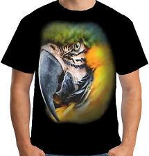 Colourful Parrot Psittacines Tumblr Fashion T Shirt Men Women Unisex 1594