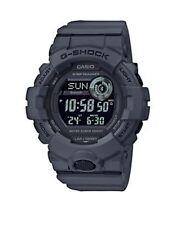 Casio G-Shock Bluetooth Step Tracker Digital Men's Watch, Grey - GBD800UC-8