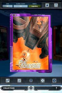 Topps Star Wars Digital Card Trader Digicon Comic Covers GILDED POE DAMERON 15