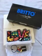 "Romero Britto "" LOVE "" Word Art Mother s Day Gift"