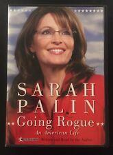 Sarah Palin Going Rogue An American Life NM CD MP3 Audiobook Memoir RNC 2008