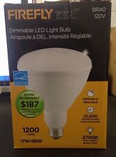 QTY: 6 FIREFLY BR40 LED 120V DIMMABLE 1200 LUMENS ENERGY STAR