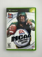 NCAA Football 2003 - Original Xbox Game - Complete & Tested