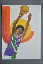 R&L Postcard: 1984 Los Angeles Olympics, Robert Peak, Women's Basketball