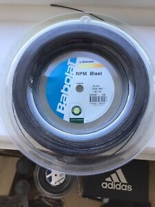 Babolat RPM Blast 130/16 gauge Tennis String. 200m Reel. New
