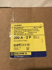 Square D, NIB Factory Sealed, PowerPact, JJL26200C 200A 2Pole 600V Breaker