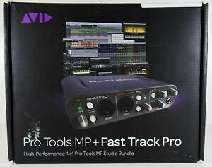 Avid Audio  Pro Tools MP9 + M-Audio Fast Track Pro Bundle High Performance 4x4