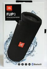 JBL Flip 3/FLIP 3 Nero-Bluetooth Altoparlante/Portable Speaker NUOVO & OVP
