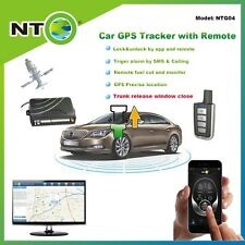 NTG04 gps tracker with gsm network android and iphone app start engine