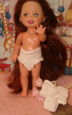 Handmade crochet Panties to fit Kelly or similar size doll 2 pair