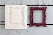Silicone Mould Decorative Picture, Photo Frame, Food Safe Ellam Sugarcraft  M193
