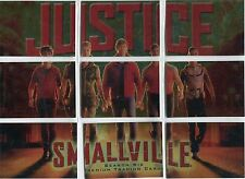 Smallville Season 6 Complete Justice Chase Card Set J1-9