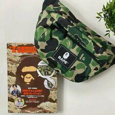a Bathing Ape 2021 Spring Collection Magazine Mook BAPE Body Bag FedEx