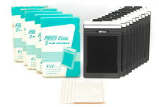 【UNUSED in BOX Set x 5】FIDELITY Elite 4x5 Cut Film Holder 10 Pieces From Japan