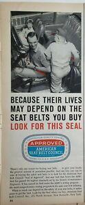 Lot of 4 Vintage Advertising Council Print Ads Ephemera Art Decor