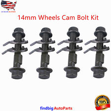 Front Left & Right Camber Alignment 14Mm Adjustable Cam Bolts Kit ( 4 Bolts)