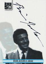 The Avengers 50th Anniversary Autograph Card AVBJ Brian Jackson As Johnnie