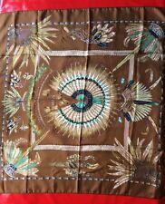 Foulard Hermes Vintage - BRAZIL -carré soie 90 x 90 cm- occasion en parfait état