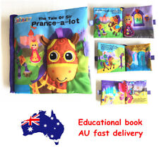 Child kid Story Book Baby Toddler Interactive Education Soft Cloth Book Toy